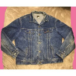 *SOLD* Vintage Lee late 80s denim jean jacket